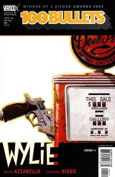 Couverture de 100 Bullets (1999) -42- Point off the edge