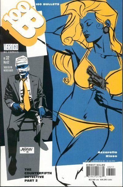 Couverture de 100 Bullets (1999) -32- The counterfifth detective (Part 2)