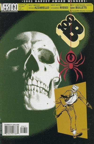Couverture de 100 Bullets (1999) -36- The counterfifth detective, conclusion