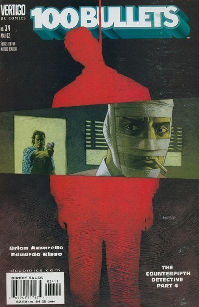Couverture de 100 Bullets (1999) -34- The counterfifth detective, part 4