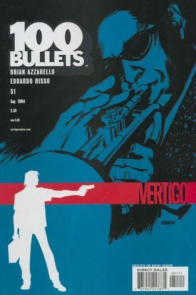 Couverture de 100 Bullets (1999) -51- Wylie runs the voodoo down, part 1