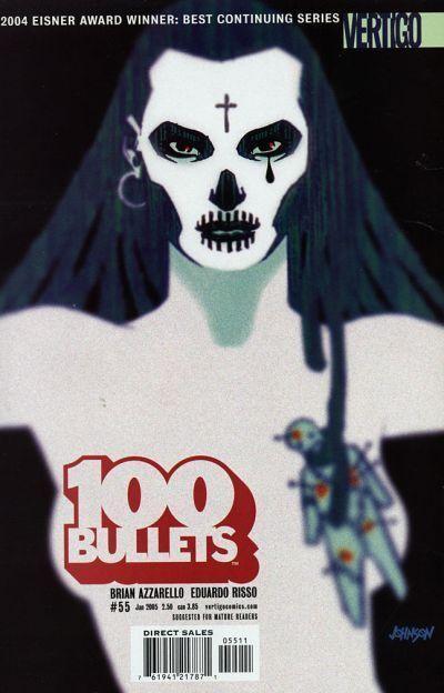 Couverture de 100 Bullets (1999) -55- Wylie runs the voodoo down, part 5