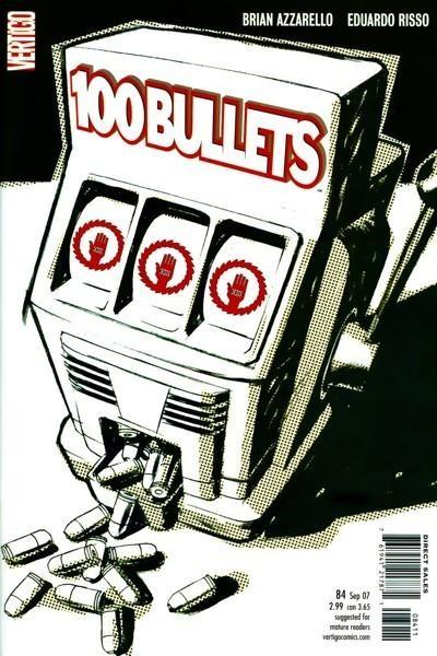 Couverture de 100 Bullets (1999) -84- The lady tonight