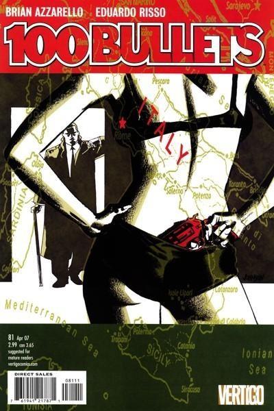 Couverture de 100 Bullets (1999) -81- Tarantula, part 1