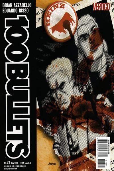 Couverture de 100 Bullets (1999) -72- A wake, part 2