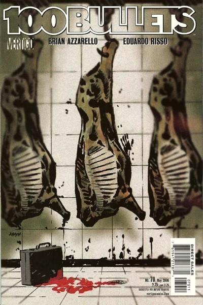 Couverture de 100 Bullets (1999) -70- A wake, part 1