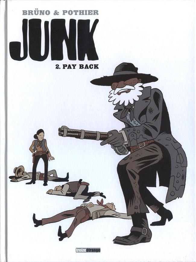 Couverture de Junk -2- Pay back