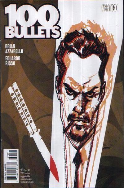 Couverture de 100 Bullets (1999) -90- Lost in a roman