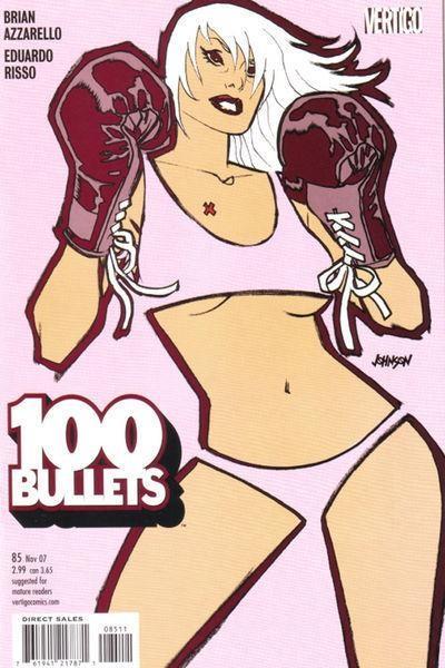 Couverture de 100 Bullets (1999) -85- Red lions