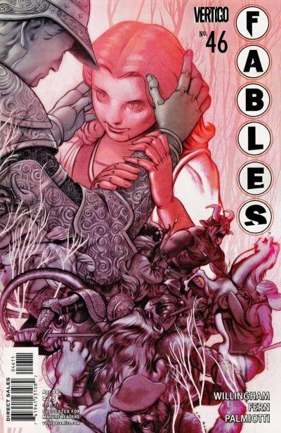Couverture de Fables (2002) -46- The ballad of Rodney and June (part 1 of 2)
