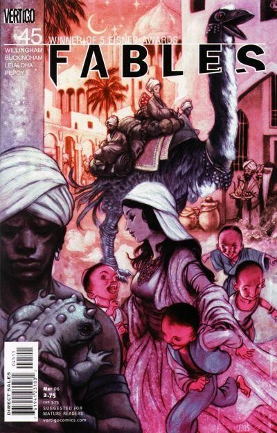 Couverture de Fables (2002) -45- Arabian nights (and days), chapter four: act of war