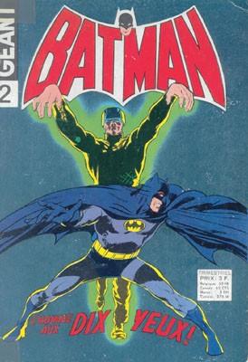 Couverture de Batman Géant (Sagédition - 1re série) -2- L'homme aux dix yeux