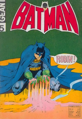 Couverture de Batman Géant (Sagédition - 1re série) -5- La maison d'où l'on ne revient pas