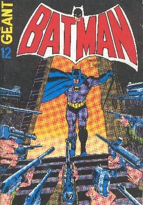 Couverture de Batman Géant (Sagédition - 1re série) -12- Le spectre