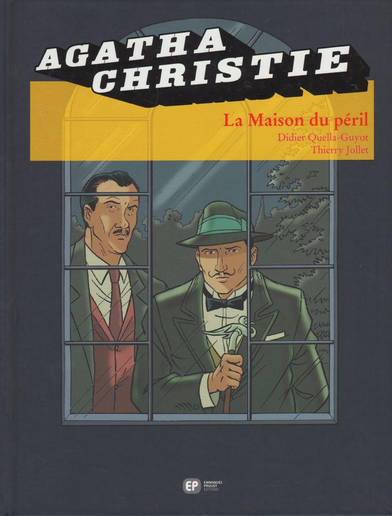 Couverture de Agatha Christie (Emmanuel Proust Éditions) -19- La maison du péril