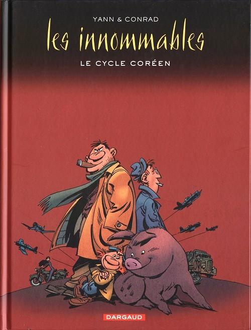 Couverture de Les innommables (Intégrales) -INT2- Le Cycle Coréen