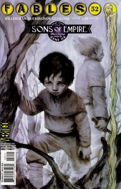Couverture de Fables (2002) -52- Sons of the Empire, part One; Hair