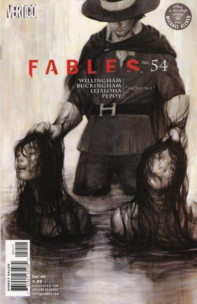 Couverture de Fables (2002) -54- Sons of the empire, part three: the burning times; a thorn in their side?