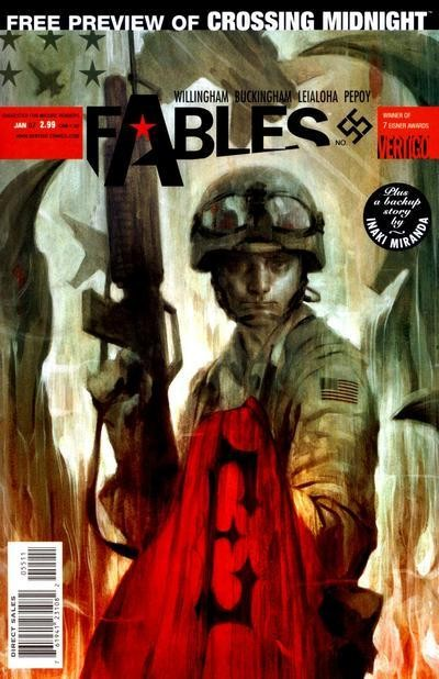 Couverture de Fables (2002) -55- Over there: part four of sons of empire