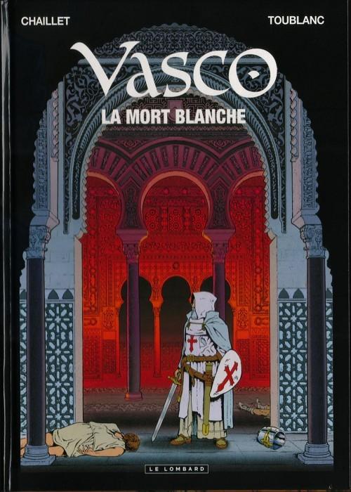 Couverture de Vasco -23- La mort blanche