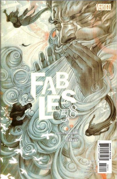 Couverture de Fables (2002) -58- Big scary monsters, part two of father and son