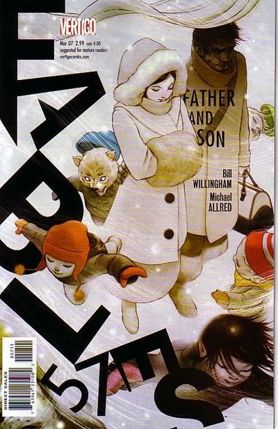 Couverture de Fables (2002) -57- A man's home is his castle, part one of father and son