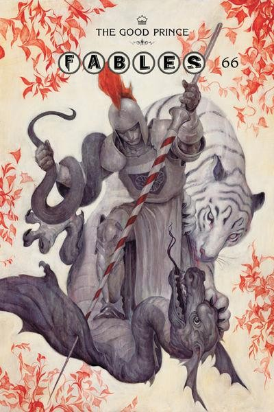 Couverture de Fables (2002) -66- Envoy, chapter six of the good prince