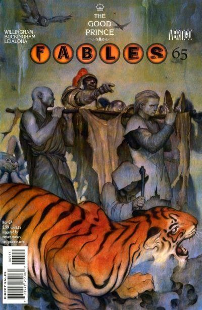 Couverture de Fables (2002) -65- Duel; chapter five of the good prince