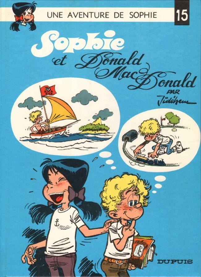 Couverture de Sophie (Jidéhem) -15- Sophie et Donald Mac Donald