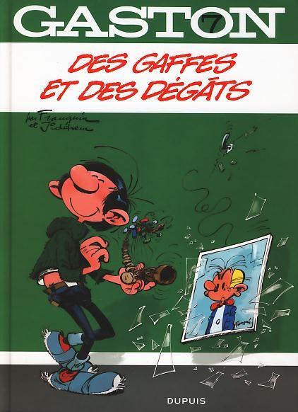 Couverture de Gaston (2009) -7- Des gaffes et des dégâts