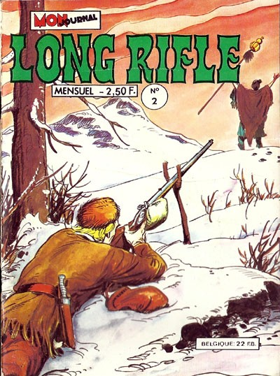 Couverture de Long Rifle -2- Longue carabine