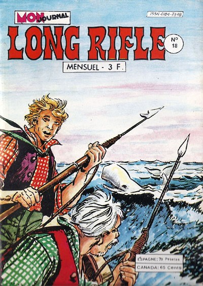 Couverture de Long Rifle -18- Le monstre frappe
