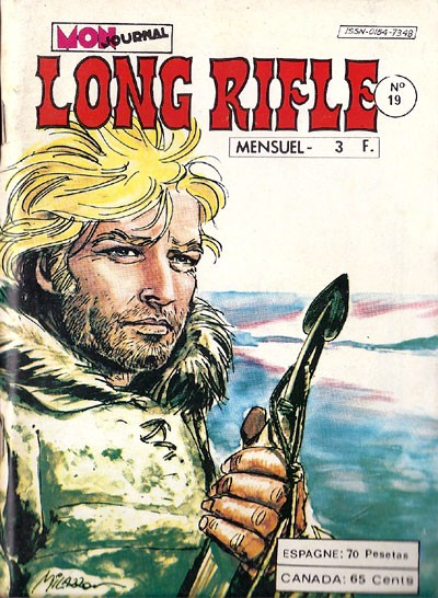 Couverture de Long Rifle -19- La marche à la mort