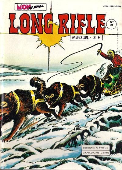 Couverture de Long Rifle -21- Le peuple des hommes
