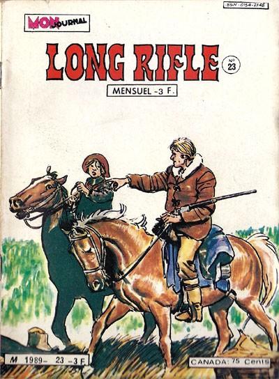 Couverture de Long Rifle -23- La ballade de Pat O'Shane