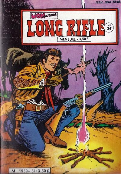 Couverture de Long Rifle -34- Terreur à Leadville