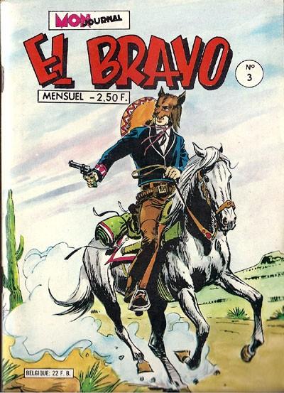 Couverture de El Bravo (Mon Journal) -3- Stone le fourbe