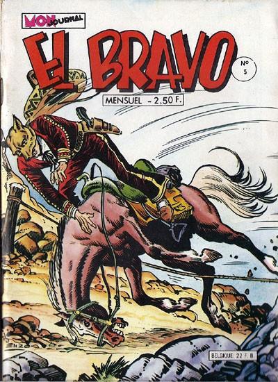 Couverture de El Bravo (Mon Journal) -5- Le puritain de la vallée du soleil