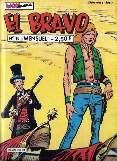 Couverture de El Bravo (Mon Journal) -10- La justice des mandans
