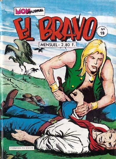 Couverture de El Bravo (Mon Journal) -19- Le scalpé