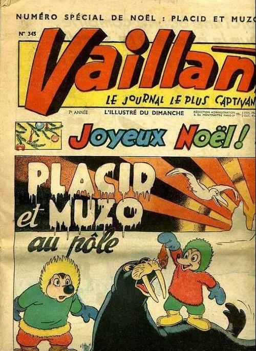 Couverture de Vaillant (le journal le plus captivant) -345- Vaillant