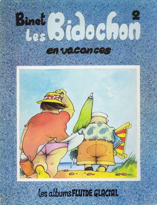 Couverture de Les bidochon -2- Les Bidochon en vacances