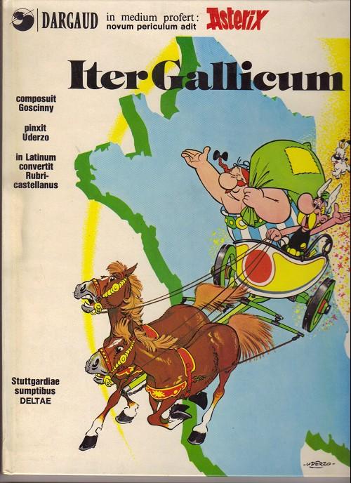 Couverture de Astérix (en latin) -5- Iter Gallicum