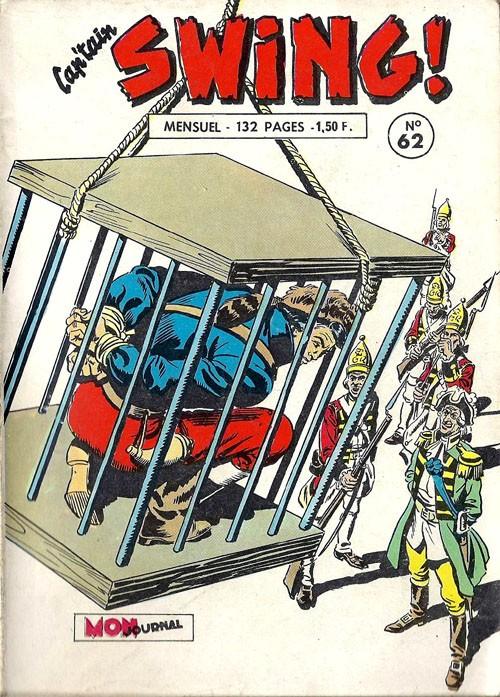 Couverture de Capt'ain Swing! (1re série) -62- Le bourreau d'Oswego