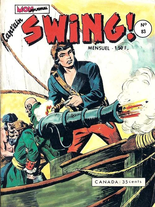 Couverture de Capt'ain Swing! (1re série) -83- Le Tsar des Caraïbes