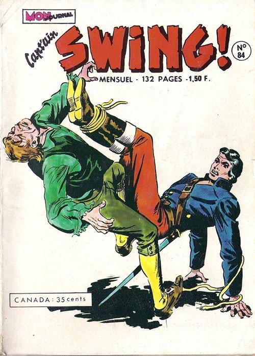 Couverture de Capt'ain Swing! (1re série) -84- Le rire du Hibou