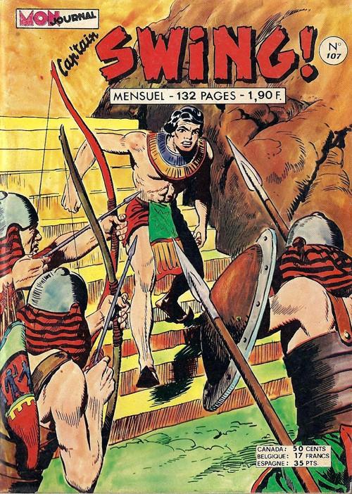 Couverture de Capt'ain Swing! (1re série) -107- La révolte des esclaves
