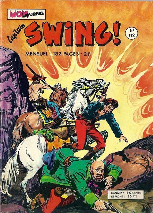 Couverture de Capt'ain Swing! (1re série) -112- Fred le déglingué