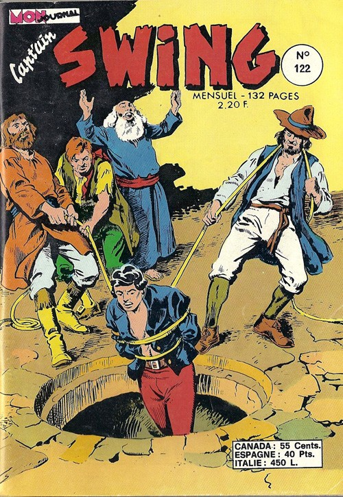 Couverture de Capt'ain Swing! (1re série) -122- La loi d'Uriel