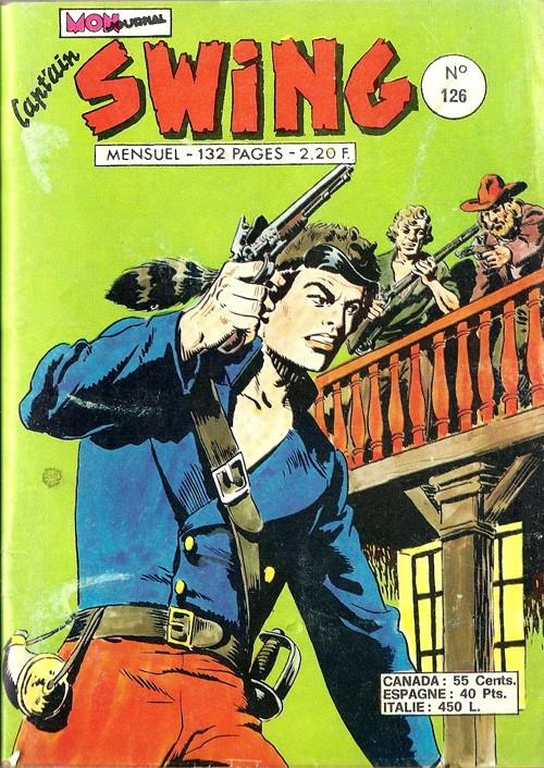 Couverture de Capt'ain Swing! (1re série) -126- Le vampire de Stork